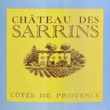 Chateau des sarrins cote de provence